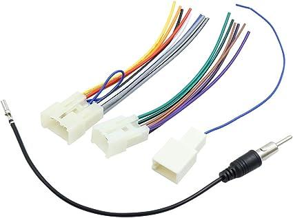 sourcing map 1Set Arnés de Cables de Antena Adaptador de CD ...
