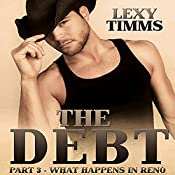 The Debt: What Happens in Reno: Cowboy, Military Soldier Civil War Romance | Lexy Timms
