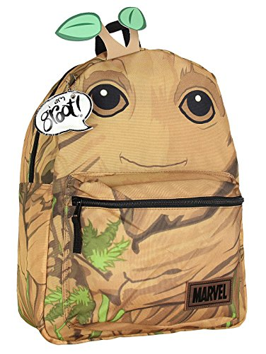 Gamora Costumes Girl (Guardians of the Galaxy Baby Groot Flip Pack Reversible Backpack)