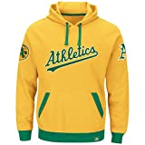 "Oakland Athletics Majestic MLB ""Forever"" Cooperstown Hooded Sweatshirt"