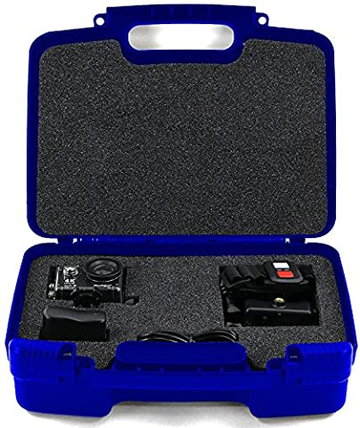 Life Made Better Storage Organizer - Compatible with Akaso EK7000 4K WIFI Sports Action Camera And Accessories- Durable Carrying Case - - Sj Speaker Cable