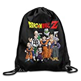 SUNG916 DBZ Gym Drawstring Bags Backpack