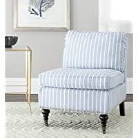 Safavieh Mercer Collection Randy Slipper Chair, Blue