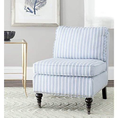 Safavieh Mercer Collection Randy Slipper Chair, Blue