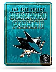 Rico Industries NHL San Jose haaien Hi-Res metalen parkeerbord
