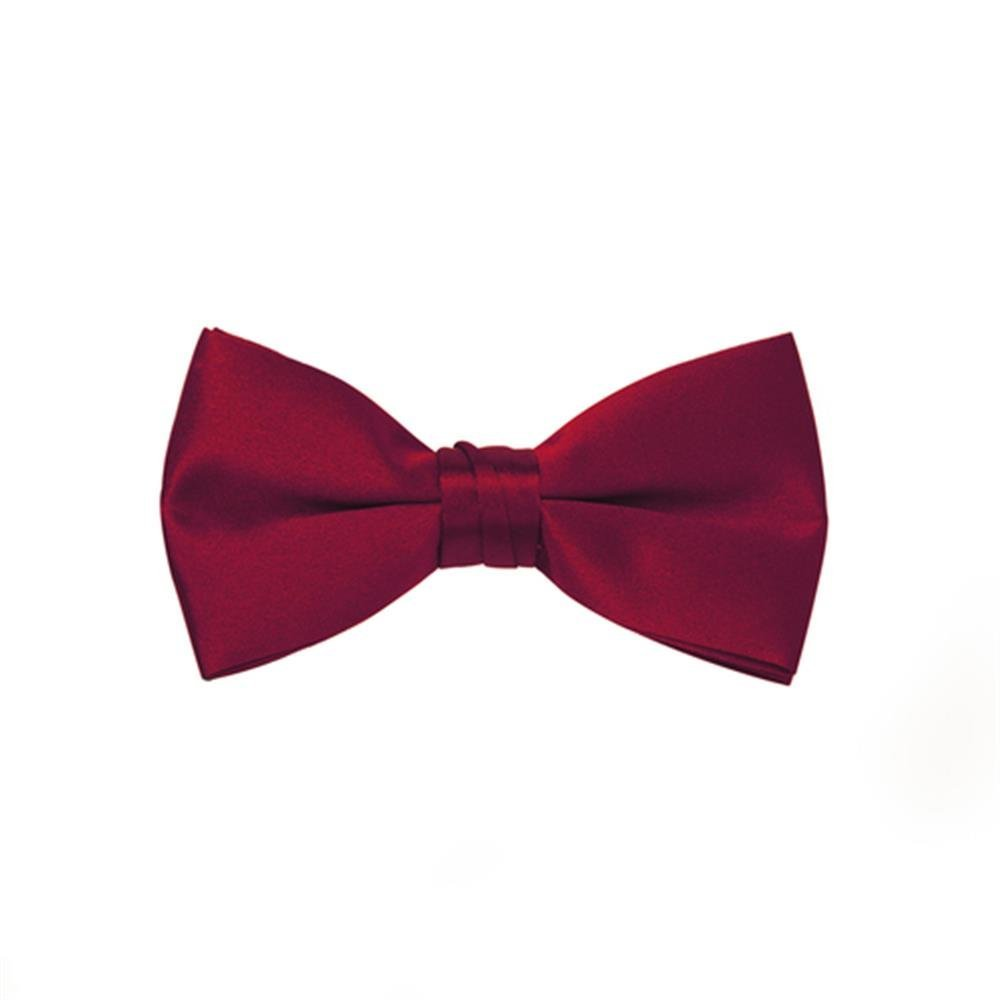 Tuxedo Men's Park Satin Bow Tie, Red bb-106-cloth