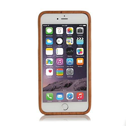 ArktisPRO Kirschbaum Echtholz Hülle für Apple iPhone 6 Plus