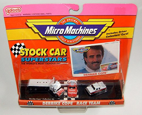 - Micro Machines Stock Car Derrike Cope Superstars #6 Collection