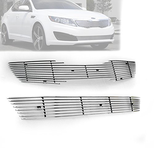 Amazon.com: ZMAUTOPARTS EX Turbo Sx Front Upper + Bumper Lower Billet Grille Grill Insert Combo: Automotive
