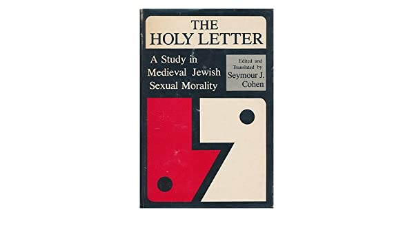 Holy in jewish letter morality sexual study