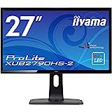 iiyama モニター ディスプレイ XUB2790HS-B2(27型/AH-IPS方式/狭額縁/広視野角/非光沢/昇降/ピボット/スィーベル/1920x1080/DVI-D,HDMI,D-Sub)