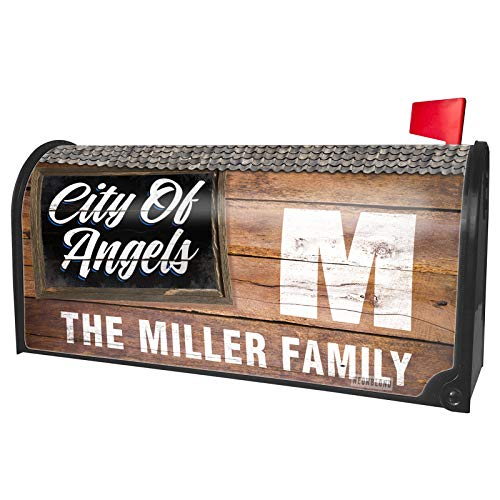 - NEONBLOND Custom Mailbox Cover Classic Design City of Angels