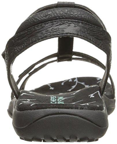 07788c1a438 delicate Skechers Women s Reggae Slim Birdcage Flat Sandal ...