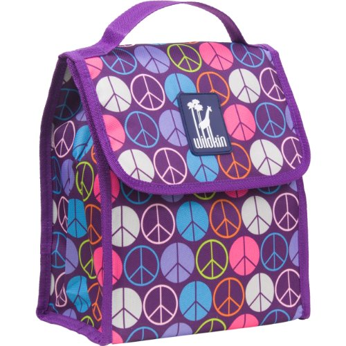 Wildkin Peace Signs Lunch Bag