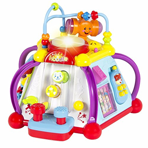 Baby Toy Musical Activity Cube Play Center with Lights,15 Functions & Skills by Unbranded