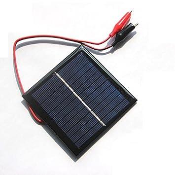 Toogoo 1w 5 5v Solarzelle Epoxid Polykristalliner Sonnenkollektor