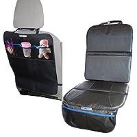 Bundle of Car Seat Protector & Kick Mat | Perfect Carseat Protector Mats for ...