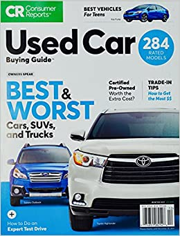 Used Car Buying Guide: Consumer Reports: 9780890438800: Amazon.com: Books