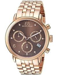 Women's 'Double 8 Origin' Swiss Quartz Stainless Steel Dress Watch, Color:Rose Gold-Toned (Model: 87WA153517)