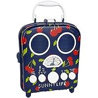 Retro Cherry Design Portable MP3 Speaker System Beach Boombox by Sunnylife Australia