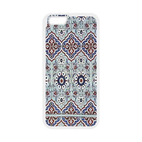 [Mosaics Series] IPhone 6 Plus Case Pavilion of Mahubay 16th Century.Mosaics, Kweet - White - Sixteenth Century Fashions