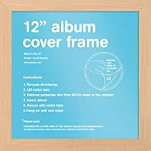 "GB eye FMALA1BH Beech 12"" Record Sleeve Album Frame"