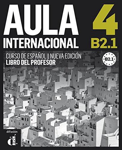 Aula internacional 4. Libro del profesor. Nueva edición