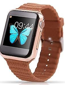 Para Vestir - para - Smartphone - Lincass - V9 - Reloj elegante - Bluetooth 4.0 -Llamadas con Manos Libres/Control de Medios/Control de , gray