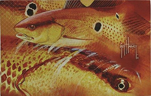 Sports Door Plaque - River's Edge Products Guy Harvey Door Mat Redfish