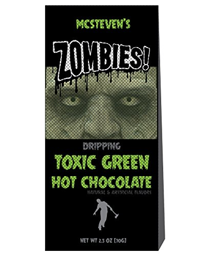 McSteven's Hot Chocolate Cocoa Mix (Zombies! Dripping Toxic Green Hot Chocolate, 2.5 oz)