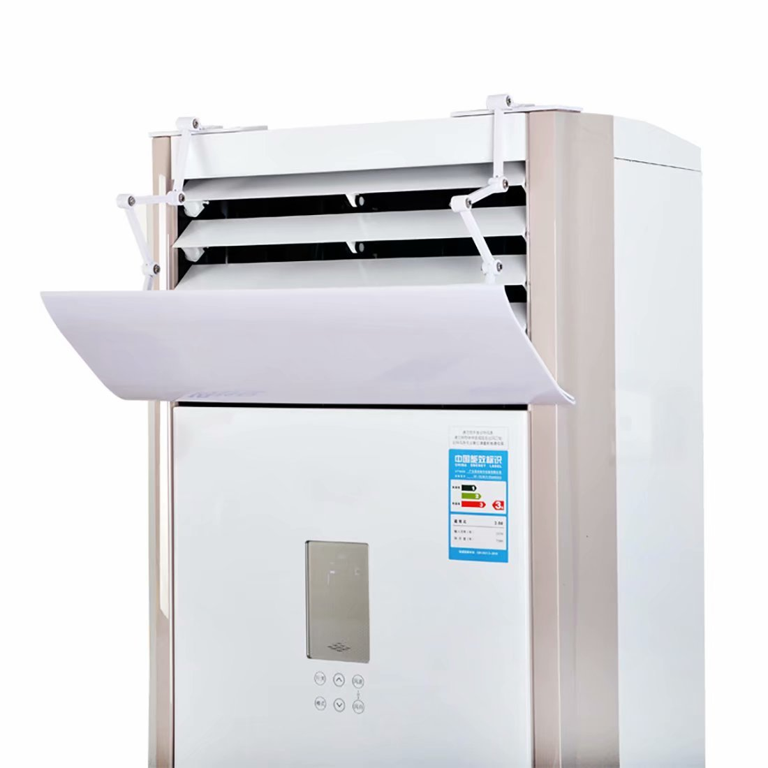 KTYJH Family Vertical Air Conditioning Windshield Windshield Anti-straight Blowing Living Room Adjustable Universal Cabinet Cabinet Air Conditioning Outlet Shelter Air