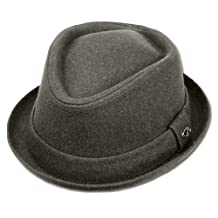 Sakkas Unisex Structured Wool Fedora Winter Hat ( 3 Colors )