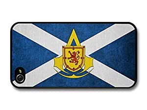 AMAF ? Accessories Scottish Flag Scotland Yellow case for iPhone 4 4S