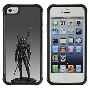 LASTONE PHONE CASE / Suave Silicona Caso Carcasa de Caucho Funda para Apple Iphone 5 / 5S / Spear Fighter Pc Game Armor