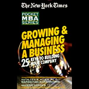 The New York Times Pocket MBA Audiobook
