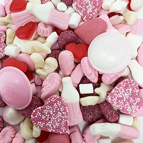 The Sweet Pack® Pink Mix Sweet Assortment (1kg)