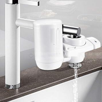 QFFL jingshuiji Bomba de Agua embotellada Dispensador de Agua automático Cubo Puro Absorbedor de Agua Dispensador de Agua Prensa Blanca: Amazon.es: Hogar