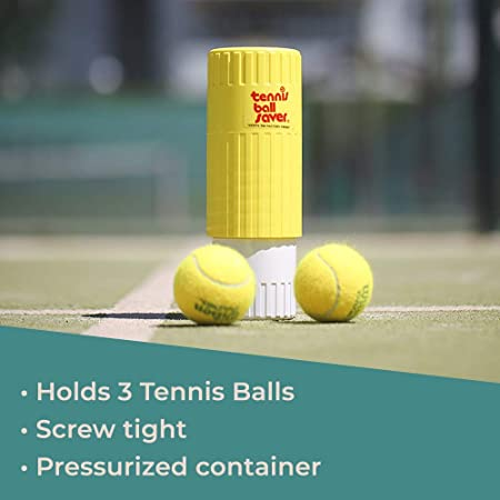 Tennis Ball Saver - Bote presurizador de pelotas de Tenis y Pádel ...