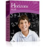 Horizons Math Kindergarten Set: Boxed Sets Include 2 Full Color Student Books and a Comprehensive Teacher Handbook. Teaches Recognitions Nad Printing