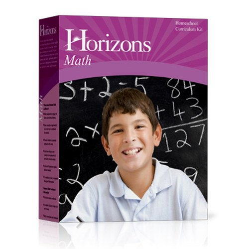 Horizons Math Kindergarten Set: Boxed Sets Include 2 Full Color Student Books and a Comprehensive Teacher Handbook. Teaches Recognitions Nad Printing (Math Boxed Set)