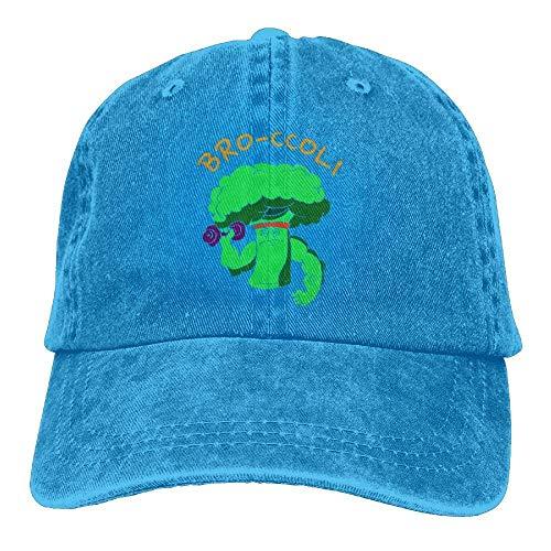 Fitness Gorras Broccoli Denim Cute Hat béisbol hanbaozhou Hat Womens Baseball Adjustable xwtRaF