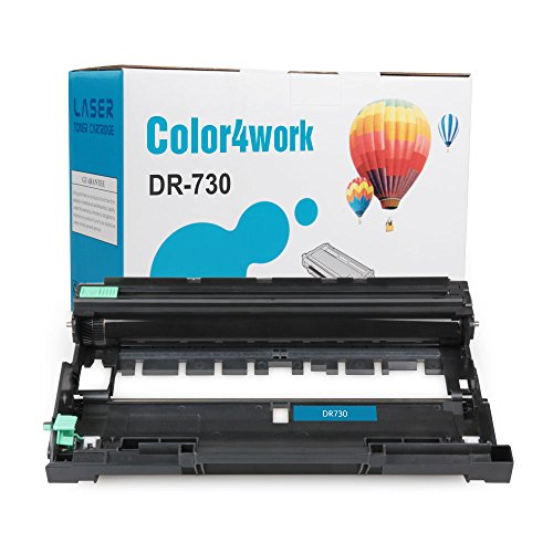 COLOR4WORK Replacement for Brother DR730 Drum Unit 1-Pack, Page Yield Up To 12,000 Pages, Compatible For Brother MFC-L2710DW HL-L2350DW HL-L2370DW HL-L2390DW HL-L2395DW DCP-L2550DW MFC-L2750DW Printer Photo #2