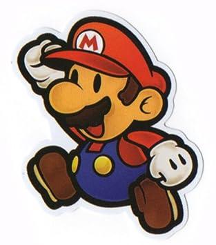Nintendo Jumping MARIO Sticker for Skateboards 2a3cc9c3656