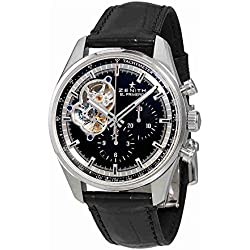 Zenith Chronomaster El Primero Automatic Chronograph Black Dial Mens Watch 03.2040.4061/21.C496