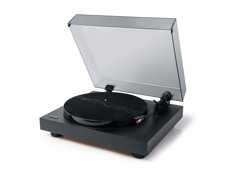 Tocadiscos con 2 velocidades, USB y Conector de Salida RCA ...