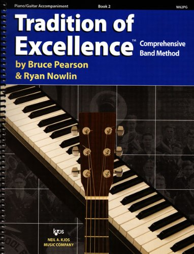 Download W62PG - Tradition of Excellence Book 2 Piano/Guitar Accompaniment pdf epub