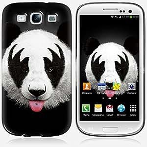Galaxy S3 case - Skinkin - Original Design : Panda Kiss by Robert Farkas