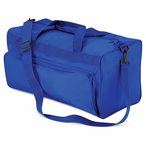 QUADRA-Bolsa de deporte QD45-inisex para hombre y mujer azul francés