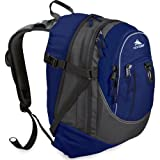 High Sierra Fat Boy Backpack,Blue Velvet/Charcoal