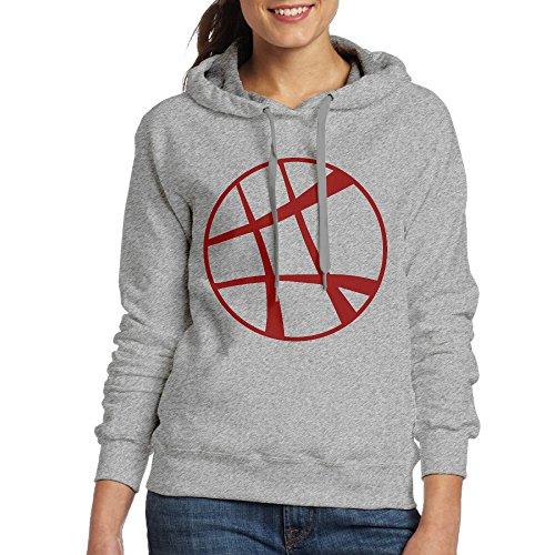 DETO Women's Doctor Strange Hooded Sweatshirt Ash Size - Hugh Jackman Glasses